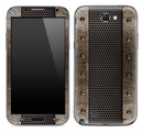 Rusty Metal Floor Skin for the Samsung Galaxy Note 1 or 2