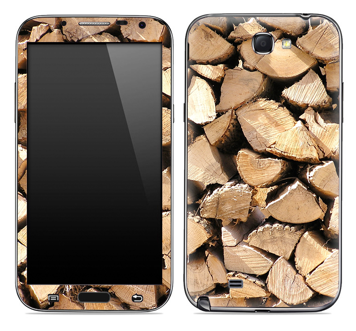 Log Ends Skin for the Samsung Galaxy Note 1 or 2