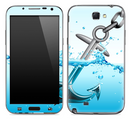 Anchor Splashing Skin for the Samsung Galaxy Note 1 or 2