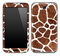 Real Giraffe Animal Print Skin for the Samsung Galaxy Note 1 or 2