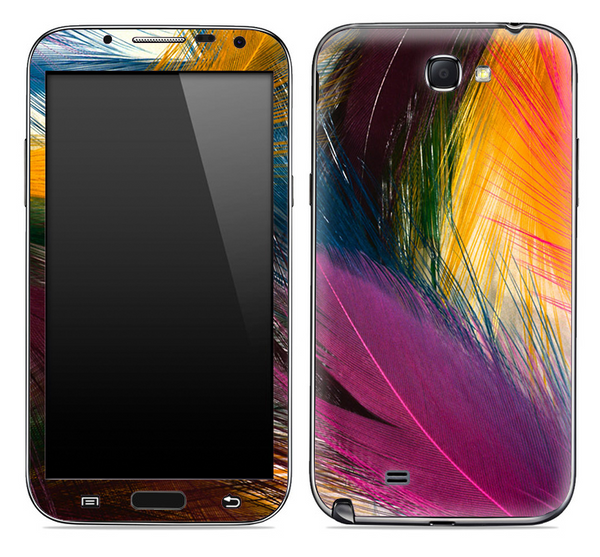 Colorful Feathers Skin for the Samsung Galaxy Note 1 or 2