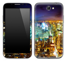 New York City Night Skyline Skin for the Samsung Galaxy Note 1 or 2