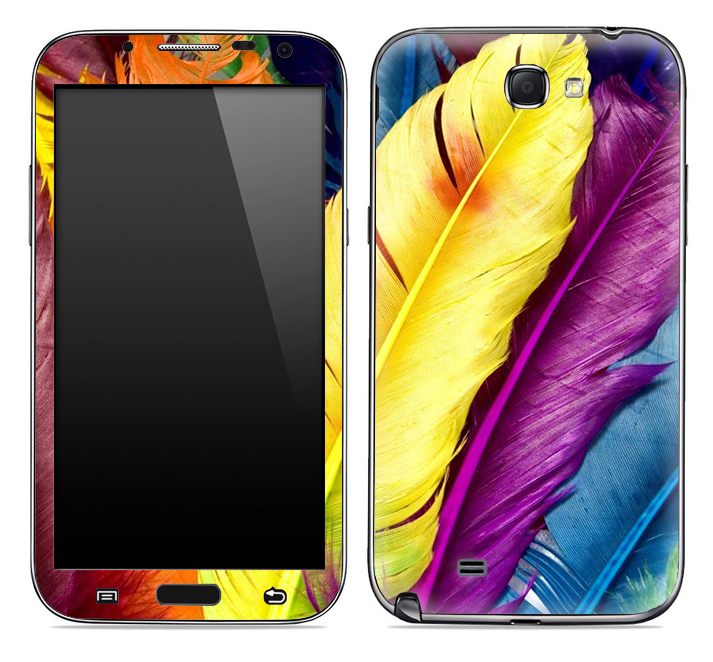 Hd Feathers Skin for the Samsung Galaxy Note 1 or 2