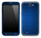 Blue Floral Skin for the Samsung Galaxy Note 1 or 2
