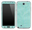 Vintage Blue Plaid Skin for the Samsung Galaxy Note 1 or 2