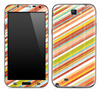 Slanted Vintage Striped Skin for the Samsung Galaxy Note 1 or 2