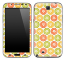 Vintage Colorful Button Skin for the Samsung Galaxy Note 1 or 2