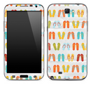 Vintage Flip-Flop Skin for the Samsung Galaxy Note 1 or 2