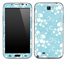 Hawaiian Vintage Floral Skin for the Samsung Galaxy Note 1 or 2