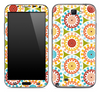 Vintage Abstract Circle Skin for the Samsung Galaxy Note 1 or 2
