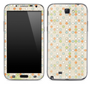 Vintage Tiny Polka Dotted Skin for the Samsung Galaxy Note 1 or 2