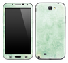 The Subtle Green Floral Skin for the Samsung Galaxy Note 1 or 2
