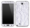 Crumpled White Paper Skin for the Samsung Galaxy Note 1 or 2