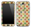 Vintage Polka Dotted Skin for the Samsung Galaxy Note 1 or 2