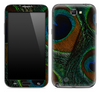 Peacock Feather Skin for the Samsung Galaxy Note 1 or 2