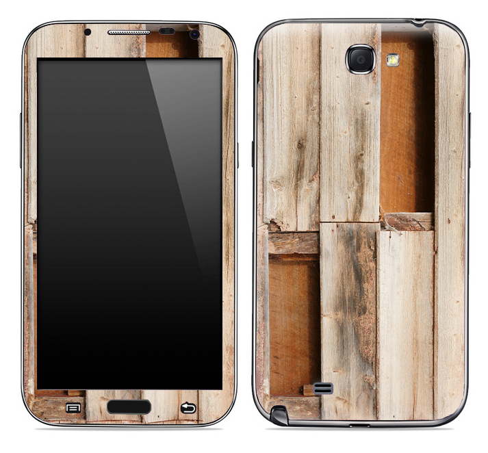 Wood Crate Skin for the Samsung Galaxy Note 1 or 2