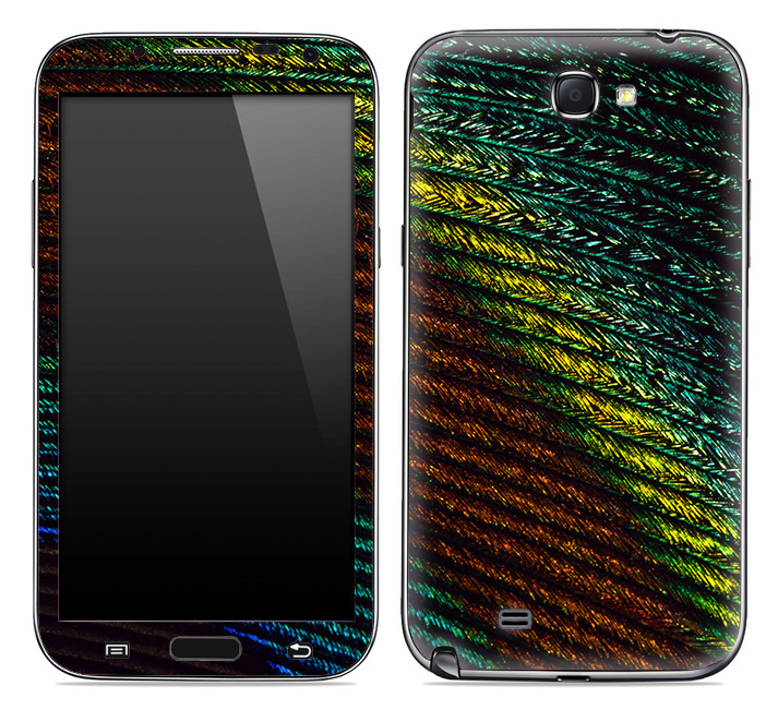Vintage Green Tiny Floral Skin for the Samsung Galaxy Note 1 or 2
