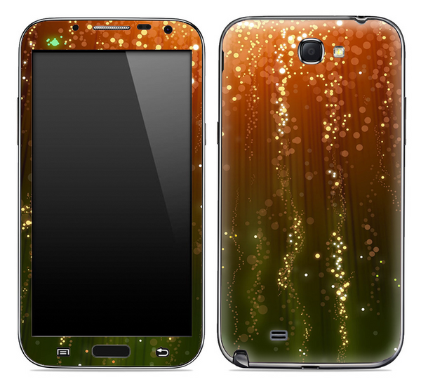 Blue Vintage Skin for the Samsung Galaxy Note 1 or 2