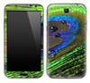 Wet Peacock Feather 2 Skin for the Samsung Galaxy Note 1 or 2