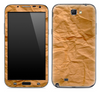 Paper Bag Skin for the Samsung Galaxy Note 1 or 2