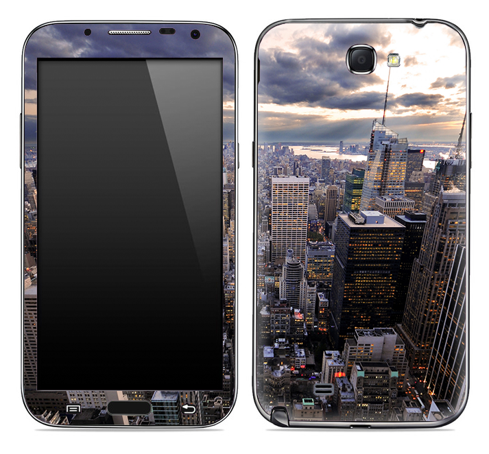 New York City Skyline 2 Skin for the Samsung Galaxy Note 1 or 2