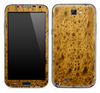 Burl Wood Skin for the Samsung Galaxy Note 1 or 2