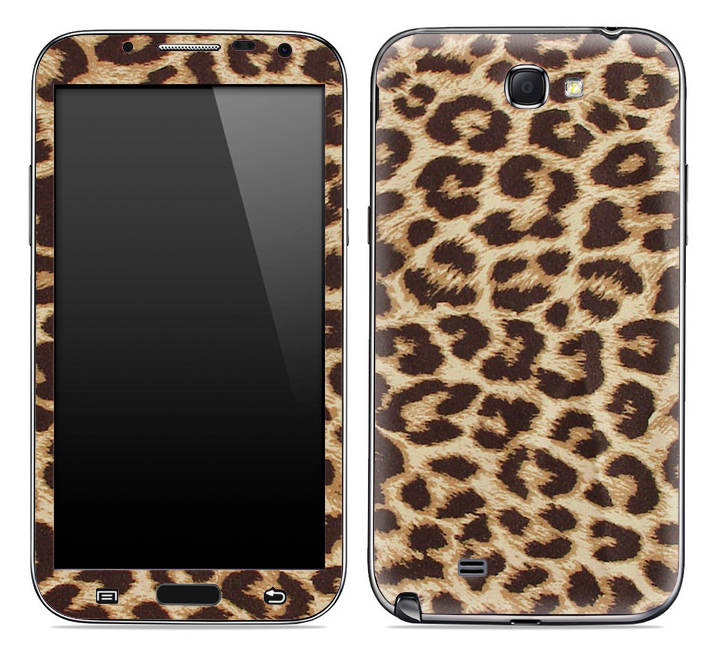 Cheetah Animal Print Skin for the Samsung Galaxy Note 1 or 2