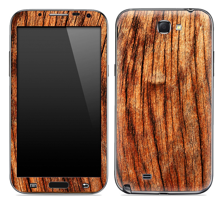 Warped Wood Skin for the Samsung Galaxy Note 1 or 2