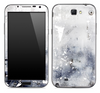 White Grungy Textured Skin for the Samsung Galaxy Note 1 or 2