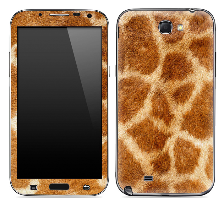 Giraffe Animal Print Skin for the Samsung Galaxy Note 1 or 2