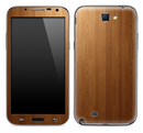 Straight Wood Skin for the Samsung Galaxy Note 1 or 2