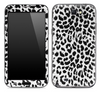 Black & White Leopard Animal Print Skin for the Samsung Galaxy Note 1 or 2