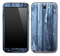 Blue Washed Wood Skin for the Samsung Galaxy Note 1 or 2