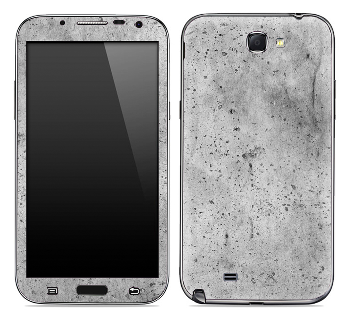 Grungy Concrete Skin for the Samsung Galaxy Note 1 or 2