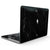 Slate Black Scratched Marble Surface - MacBook Pro with Touch Bar Skin Kit
