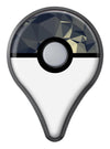 Slate Gray Geometric Triangles Pokémon GO Plus Vinyl Protective Decal Skin Kit