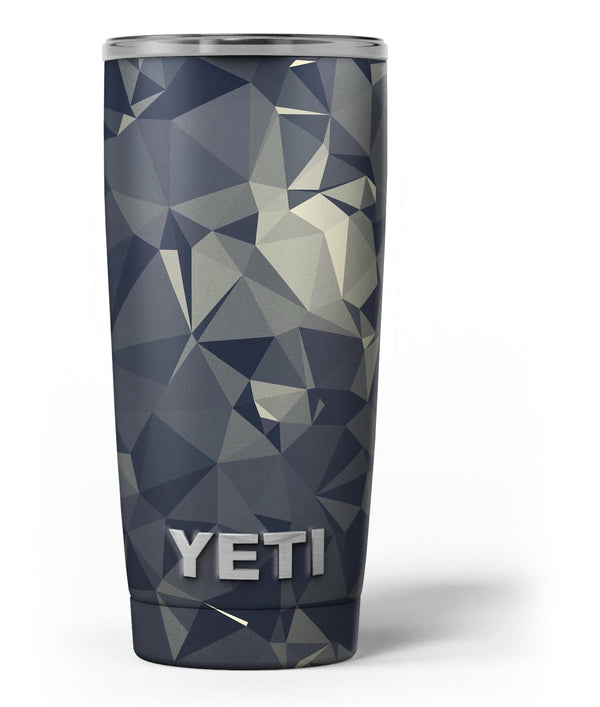 Slate_Gray_Geometric_Triangles_-_Yeti_Rambler_Skin_Kit_-_20oz_-_V3.jpg