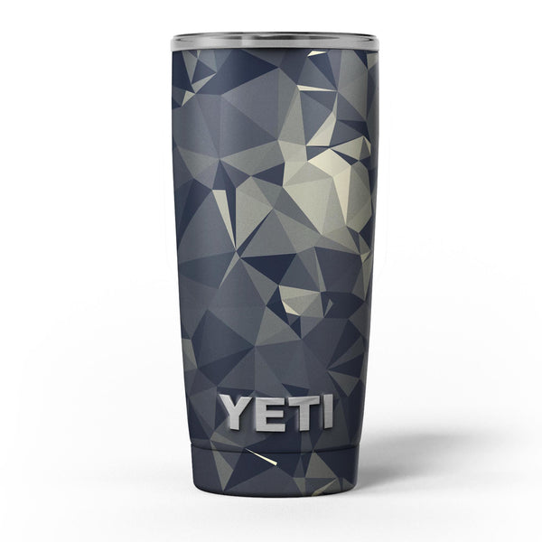 Slate_Gray_Geometric_Triangles_-_Yeti_Rambler_Skin_Kit_-_20oz_-_V5.jpg