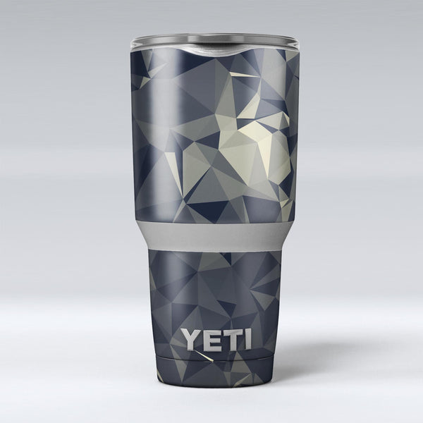 Slate_Gray_Geometric_Triangles_-_Yeti_Rambler_Skin_Kit_-_30oz_-_V1.jpg