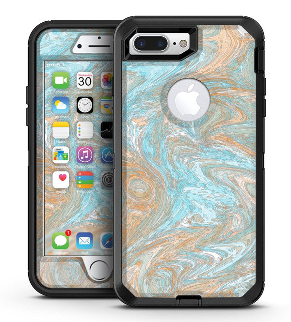 Slate Marble Surface V28 - iPhone 7 Plus/8 Plus OtterBox Case & Skin Kits