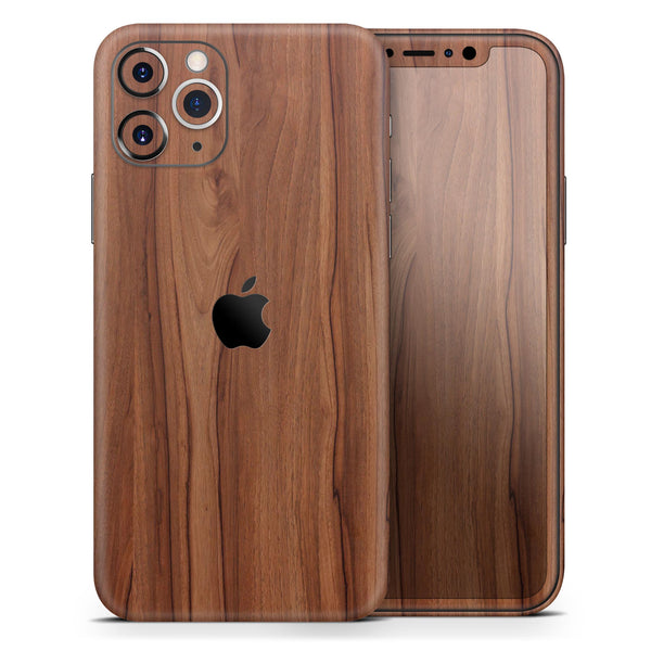 Smooth-Grained Wooden Plank - Skin-Kit for the Apple iPhone 11, 11 Pro or 11 Pro Max