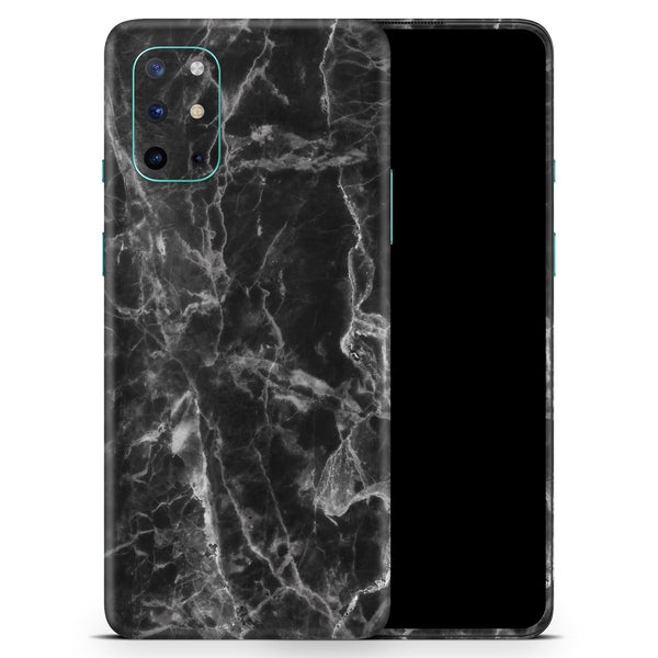 Smooth Black Marble - Full Body Skin Decal Wrap Kit for OnePlus Phones