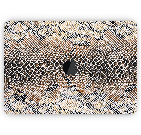 "Snake Skin Pattern V2 - Skin Decal Wrap Kit Compatible with the Apple MacBook Pro, Pro with Touch Bar or Air (11"", 12"", 13"", 15"" & 16"" - All Versions Available)"