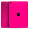 "Solid Pink V2 - Full Body Skin Decal for the Apple iPad Pro 12.9"", 11"", 10.5"", 9.7"", Air or Mini (All Models Available)"