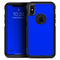 Solid Royal Blue - Skin Kit for the iPhone OtterBox Cases