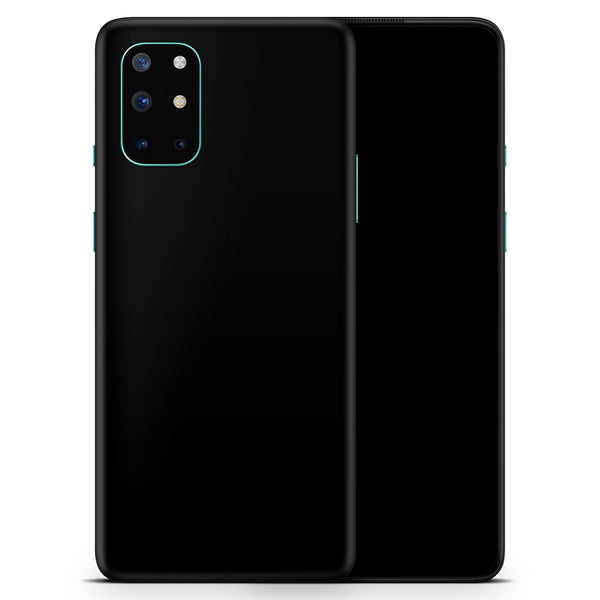 Solid State Black - Full Body Skin Decal Wrap Kit for OnePlus Phones