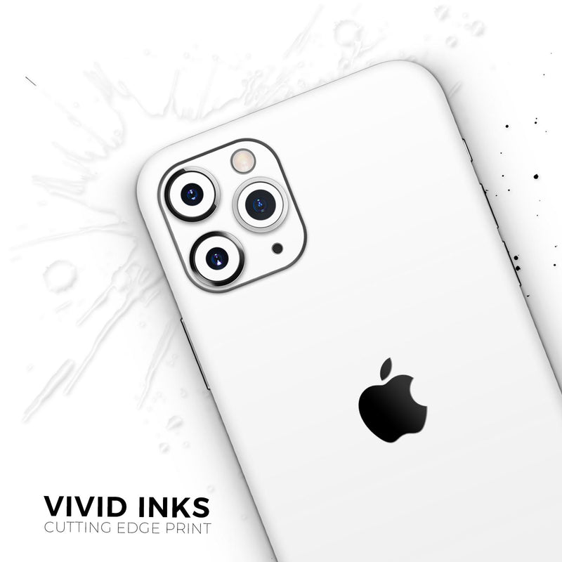 Solid State White - Skin-Kit for the Apple iPhone 11, 11 Pro or 11 Pro Max