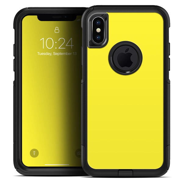 Solid Yellow - Skin Kit for the iPhone OtterBox Cases
