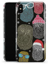 Spaced out Owls - iPhone X Clipit Case
