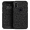Sparkling Black Ultra Metallic Glitter - Skin Kit for the iPhone OtterBox Cases